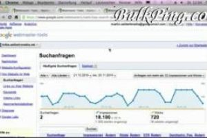 Online Tricks : Sollte man Google Webmaster Tools nutzen?  Free online seo on bulkping for Internet