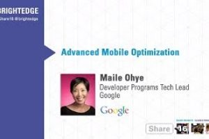 Advanced Mobile Optimization – Google and Mobile SEO – Share16