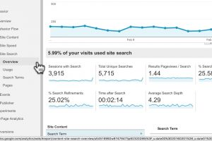 How to set up internal Site Search (3:55)