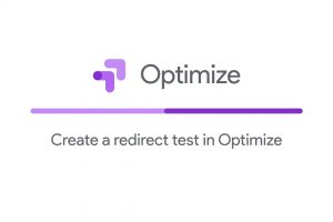 Create a redirect test in Optimize
