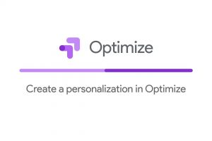 Create a personalization in Optimize