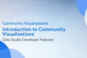 Community Visualizations: Introduction to Community Visualizations