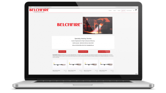 Belchfire E-Commerce Quoting Engine, SEO, Lead Generation, Data Analysis BELCHFIRE Torches are used by welding fabricators, iron foundries, cast iron repair shops, heavy equipment manufacturers and marine service shops where preheating and post heating of metals are required. Used for foundry ladle heating, foundry crucibles, preheating metal for fabrication, heating for welding cast iron, heating for welding nickel, and heating for cast iron crack repair.