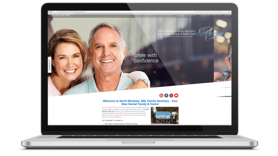 North Mankato Family Dentistry, Local SEO, Direct Marketing, Google Ads, Data Analysis  North Mankato Family Dentistry is a dental office in Minnesota. They are the only Sedation Dentist in a 50-mile radius of North Mankato.