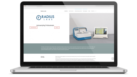 Radius Labs Radius Labs was founded by people with over 35 years of diverse experience in analytical instrumentation, fluidic processing modules, and microfluidics. Diversity to us means exposure not only to interesting technical requirements but for early entrants looking for a way into their own imagined markets. This includes our Early Engineers Foundation which provides grants and educational discounts to people as early as high school to check out their ideas. Yeah, we'll give you stuff.