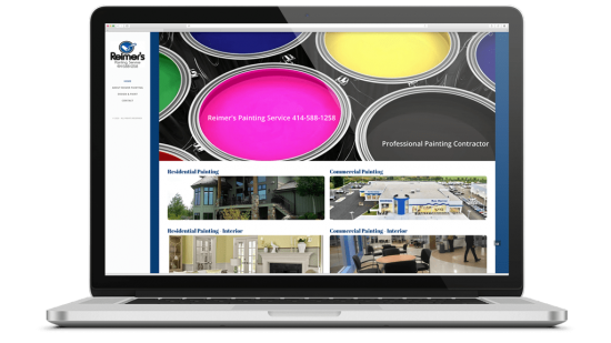Reimer's Painting Service Mobile Friendly Website Design, SEO & API Integration Reimer's Painting Service is the area's premier residential & commercial painter serving Brookfield, Hartland, Delafield, Pewaukee, Hartford, Dousman, Oconomowoc & surrounding areas.