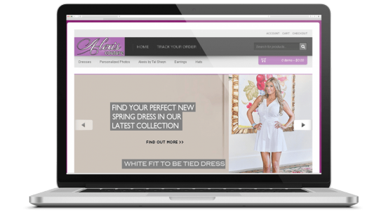 Shop Everything Alexis E-Commerce Website Development Real Housewife of Orange County, Alexis Bellino's Fashion E-Commerce Website Design & Webmaster Services.
