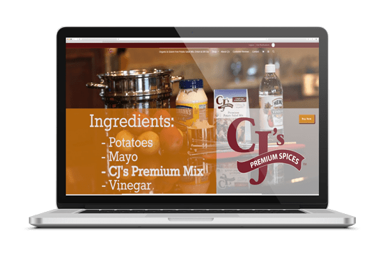 CJ's Premium Spices 312-340-6025 DOYJO.com
